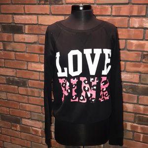 💕🖤PINK Victoria's Secret Crew Neck Sweatshirt